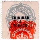 (I.B) Trinidad & Tobago Revenue : Duty Stamp £1