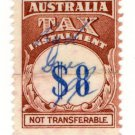 (I.B) Australia Revenue : Tax Instalment $8