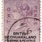 (I.B) British Bechuanaland Revenue : Duty 2d