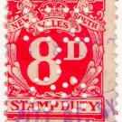 (I.B) Australia - NSW Revenue : Stamp Duty 8d (NZI Co perfin)