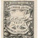 (I.B) English & Irish Magnetic Telegraph Company 1/-