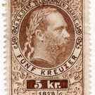 (I.B) Austria Telegraphs : 5kr