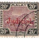 (I.B) Federated Malaya States Revenue : Judicial 20c