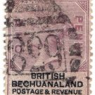 (I.B) British Bechuanaland Revenue : Duty 1d (postal)