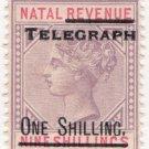 (I.B) Natal Telegraphs : 1/- on 9/- OP