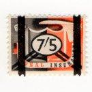 (I.B) George VI Revenue : National Insurance 7/5d