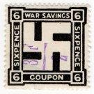(I.B) Cinderella Collection : National War Savings 6d (1917)