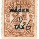 (I.B) Australia - Tasmania Revenue : Wages Tax 4d