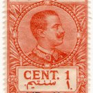 (I.B) Italy (Libya) Revenue : Duty Stamp 1c (1915 on 1914 OP)