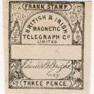 (I.B) British & Irish Magnetic Telegraph Company 3d (watermarked paper)