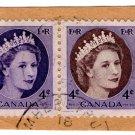 (I.B) Canada Postal : 4c Bi-Colour Head