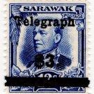 (I.B) Sarawak Telegraphs : Overprint $3