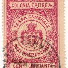 (I.B) Italy (Eritrea) Revenue : Polizze de Carico 50c (Police)