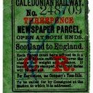 (I.B) Caledonian Railway : Newspaper Parcel 3d