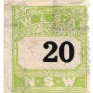 (I.B) Australia - NSW Revenue : Wines & Spirits Association 20c