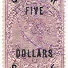 (I.B) QV Revenue : Consular Service $5 on £5 OP