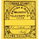 (I.B) British & Irish Magnetic Telegraph Company 2/- (watermarked paper)