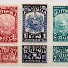 (I.B) Guatemala Revenue : Duty Stamp Collection