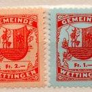 (I.B) Switzerland Revenue : Wettingen Local Tax Collection