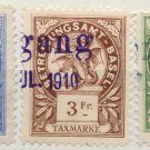 (I.B) Switzerland Revenue : Basel Local Duty Collection