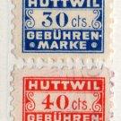 (I.B) Switzerland Revenue : Bern (Huttwill) Municipal Duty Collection