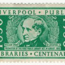 (I.B) Cinderella Collection : Liverpool Libraries Centenary (1950)