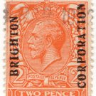 (I.B) George V Commercial Overprint : Brighton Corporation