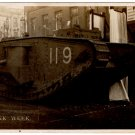 (I.B) Cinderella Collection : National War Savings - Tank Week Postcard