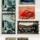 (I.B) Luxembourg Postal : Pictorials Collection