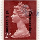 (I.B) Elizabeth II Commercial Overprint : Corporation of Liverpool