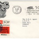 (I.B) Cinderella Collection : BEA Airway Letter Service 11d (Europa 1961)