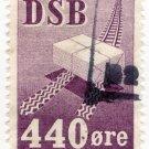 (I.B) Denmark Railway : Parcel Stamp 440 Øre