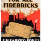(I.B) Cinderella Collection : Sankey Firebricks (Ilford)