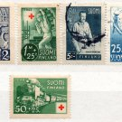 (I.B) Finland Postal : Red Cross Collection