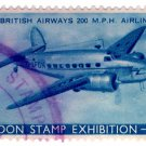 (I.B) Cinderella Collection : London Stamp Exhibition 1939 (BA Airliner)
