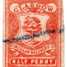 (I.B) Cinderella Collection : Circular Delivery Company (Glasgow ½d)