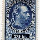 (I.B) Austria Telegraphs : 20kr