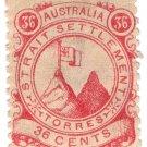 (I.B) Australia Cinderella : Straits Settlements (Torres) 36c