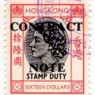 (I.B) Hong Kong Revenue : Contract Note $16