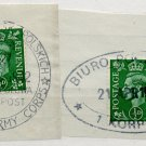 (I.B) George VI Postal : Polish Army Corps Cancels Collection
