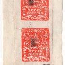 (I.B) QV Revenue : Impressed Duty £14 (London Chief Office 1881)