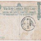 (I.B) Cinderella Collection : National War Savings - Whippet Tanks Postcard