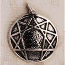 O.925 Sterling Silver Ennegram Pendant Solid Enneagram Personality Types