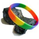 Silicone Bracelet Wristband Rainbow Gay Pride & Bear