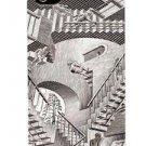 NEW iPhone 4/4S LuxMobile Relativity M.C. Escher Hard Case Black/White In Box