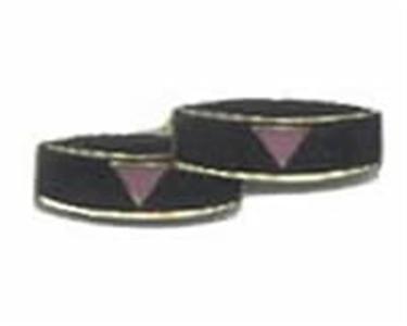 Same Sex Marriage Lapel Pins or Tie Tacks Gay Pride Pink Triangle or Rainbow