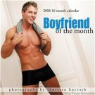 BOYFRIEND OF THE MONTH 2008 CALENDAR GAY INT SALE