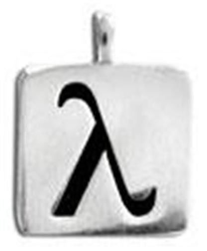 Gay Mens Pewter Dog Tags Necklaces for Gays and Gay Pride