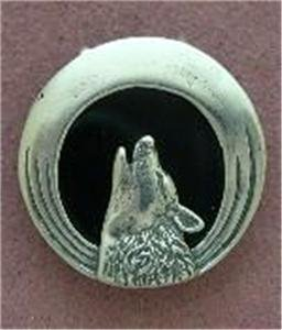 Howling Wolf Pendants 0.925 Sterling Silver