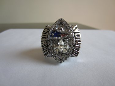 Promotion sale REPLICA 2004 Super bowl  XXXIX CHAMPIONSHIP RING New England Patriots Branch